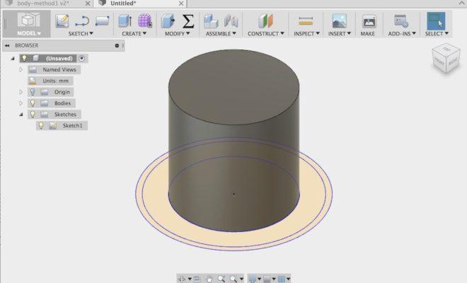 Tutorial – Extrude en Fusion 360 (parte1) – Ciencia y Diseño
